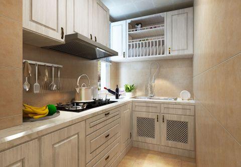 奢華廚房墻面裝飾實景圖