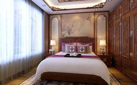卧室衣柜中式风格装饰效果图