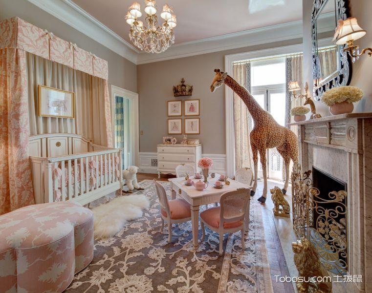 儿童房美式风格效果图大全2017图片