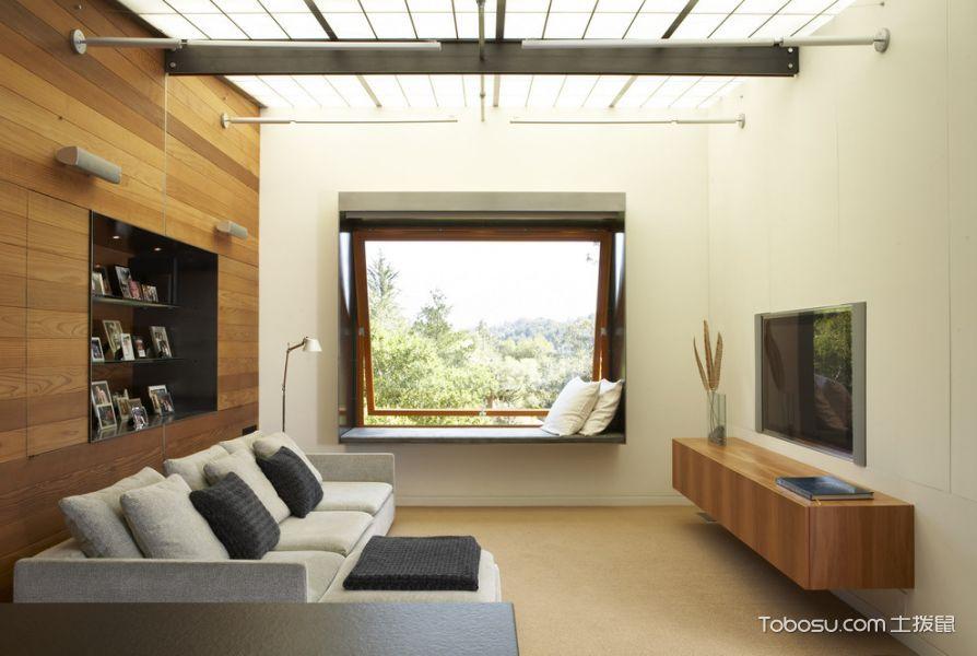 100~120m²/现代/庭院装修设计