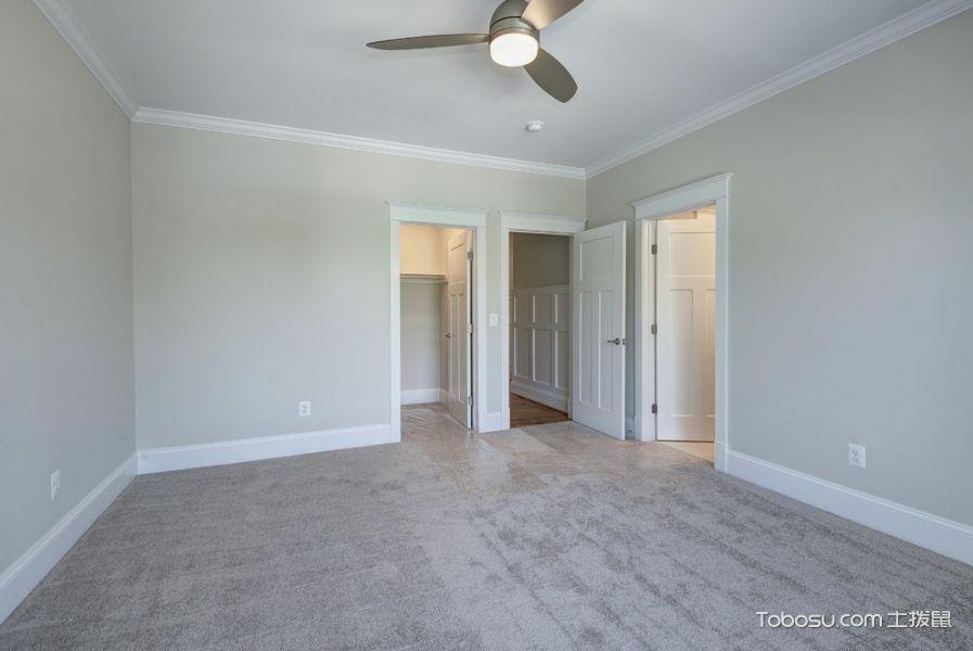 卧室灰色地砖现代风格装饰效果图
