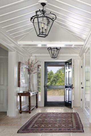 玄关吊顶美式风格效果图