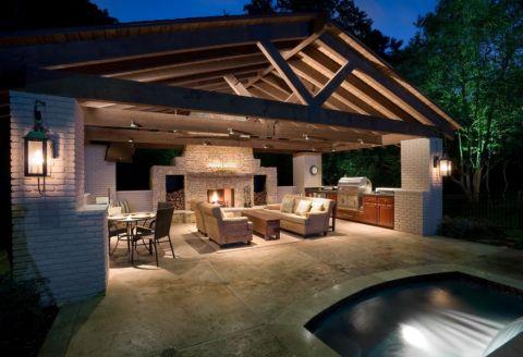 阳台地砖现代风格装潢设计图片