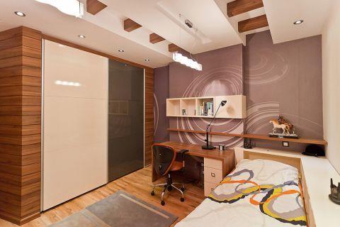 儿童房地板砖现代风格装潢效果图