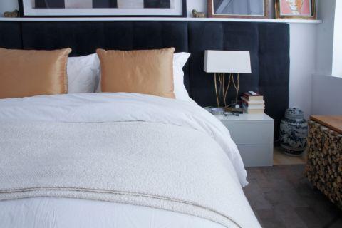 卧室床头柜混搭风格装修设计图片