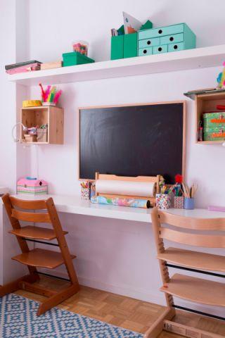 儿童房现代风格效果图大全2017图片_土拨鼠文艺休闲儿童房现代风格装修设计效果图欣赏