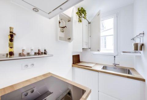 厨房北欧风格效果图大全2017图片_土拨鼠美感个性厨房北欧风格装修设计效果图欣赏