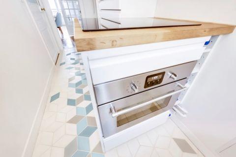 厨房地砖北欧风格装饰设计图片