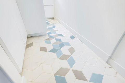 厨房地砖北欧风格装潢效果图