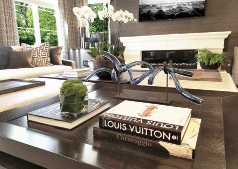 客厅茶几地中海风格装潢设计图片