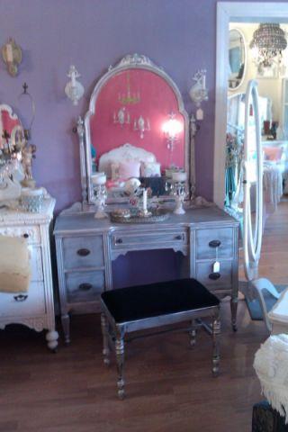 卧室梳妆台混搭风格装修设计图片