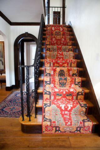 玄关楼梯混搭风格装修效果图