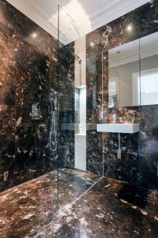 浴室背景墙现代风格效果图