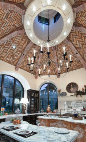 厨房吊顶地中海风格装修图片