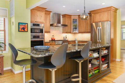 厨房混搭风格效果图大全2017图片_土拨鼠潮流个性厨房混搭风格装修设计效果图欣赏