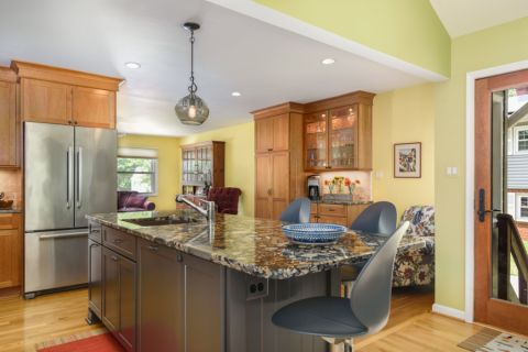 厨房吊顶混搭风格装饰效果图