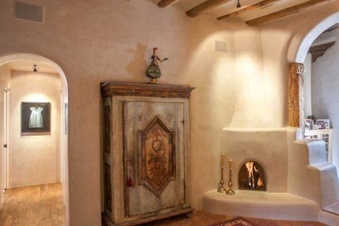 客厅背景墙地中海风格装饰设计图片