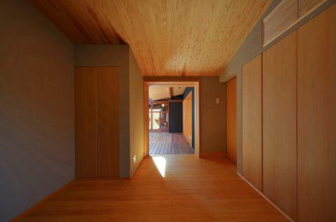 玄关走廊日式风格装饰效果图
