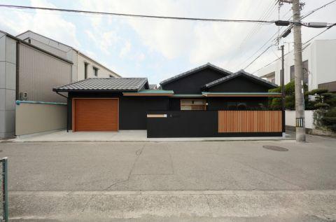 外景外墙日式风格装饰图片