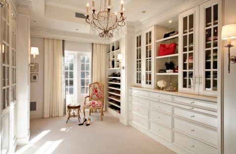 玄关鞋柜美式风格装潢图片