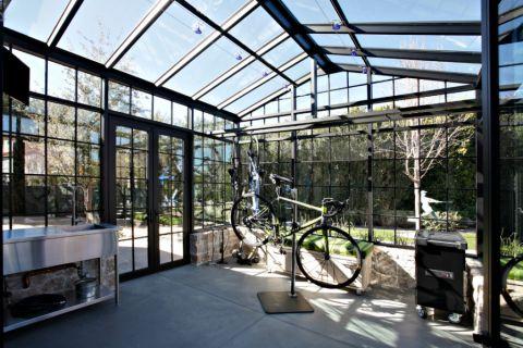 阳光房地砖美式风格效果图