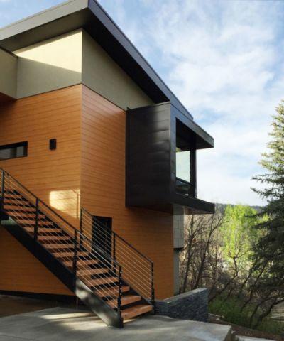 外景楼梯现代风格装潢设计图片
