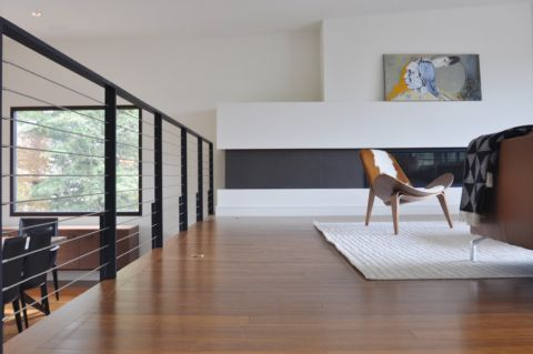 客厅地板砖现代风格效果图