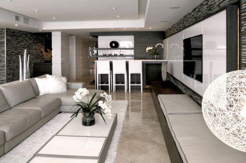 客厅地砖现代风格效果图
