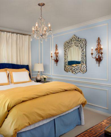 卧室吊顶地中海风格装修图片