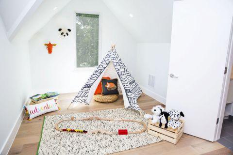 儿童房北欧风格效果图大全2017图片_土拨鼠典雅时尚儿童房北欧风格装修设计效果图欣赏