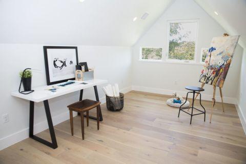 书房书桌北欧风格装修效果图