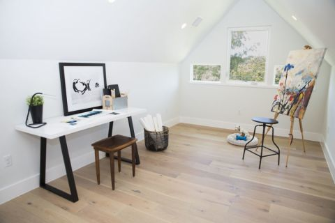 书房地板砖北欧风格效果图