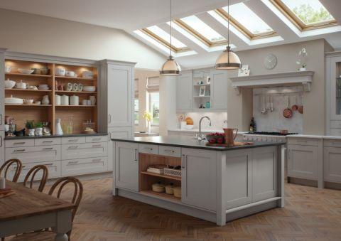 厨房吊顶现代风格装饰设计图片
