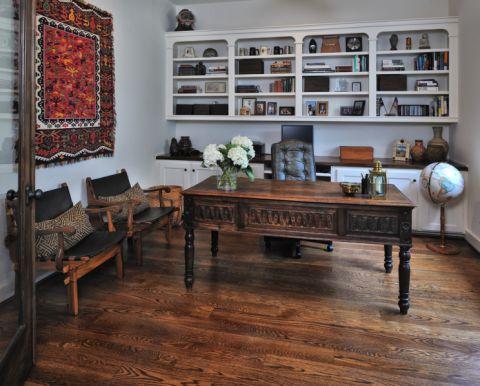 书房书桌地中海风格装修效果图