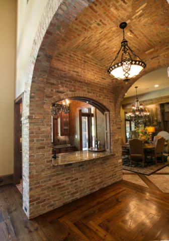 厨房走廊地中海风格装饰设计图片