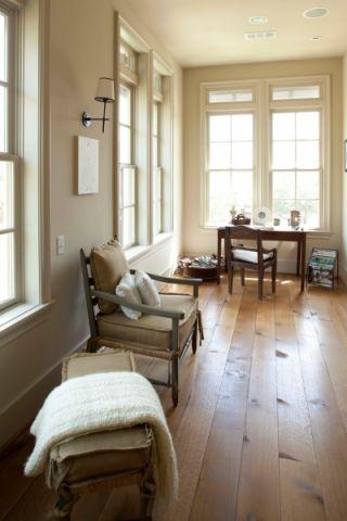 书房地板砖美式风格装饰设计图片