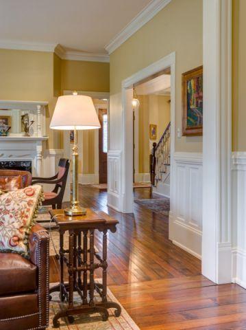 客厅地板砖美式风格装修图片