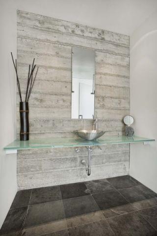 浴室地砖现代风格装饰设计图片