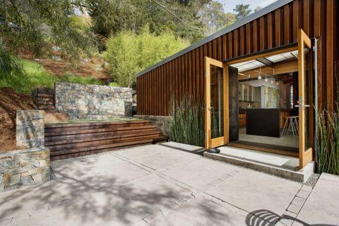 阳台地砖现代风格装潢图片