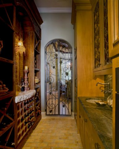 厨房地中海风格装潢效果图