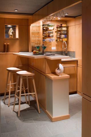 餐厅吧台现代风格装饰图片
