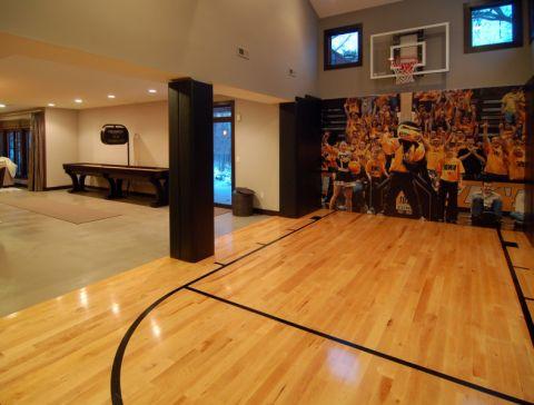 健身房现代风格效果图大全2017图片_土拨鼠美感质感健身房现代风格装修设计效果图欣赏