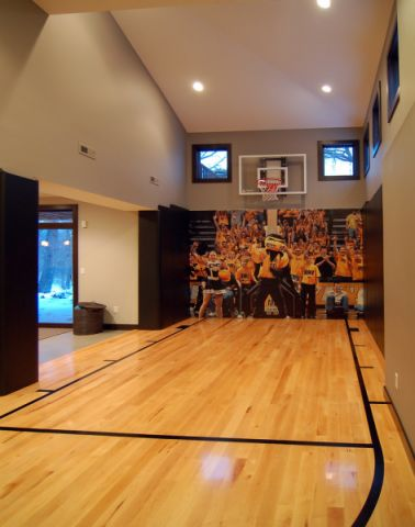 健身房背景墙现代风格装饰图片