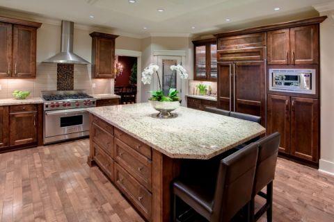 厨房美式风格效果图大全2017图片_土拨鼠典雅清新卫生间美式风格装修设计效果图欣赏