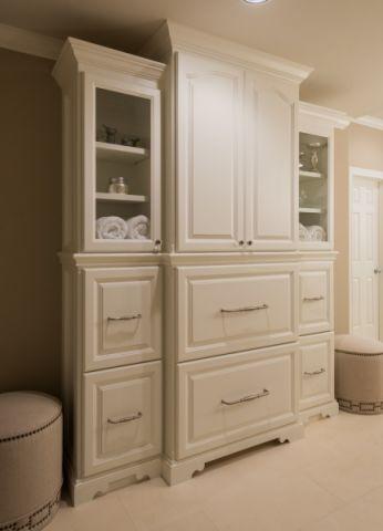 浴室地砖美式风格装修图片
