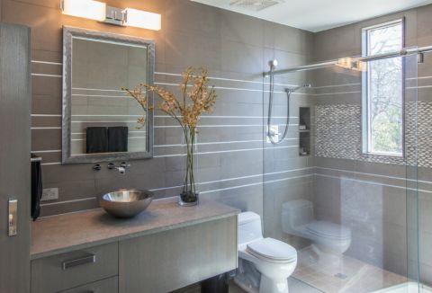 浴室现代风格效果图大全2017图片_土拨鼠极致清新浴室现代风格装修设计效果图欣赏