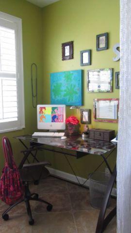 阳台书桌混搭风格效果图