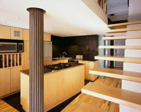 厨房现代风格效果图大全2017图片_土拨鼠完美写意厨房现代风格装修设计效果图欣赏