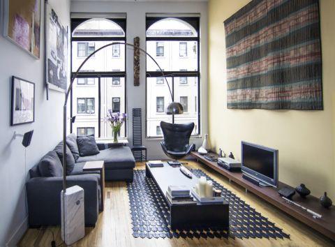 客厅电视柜现代风格装潢图片