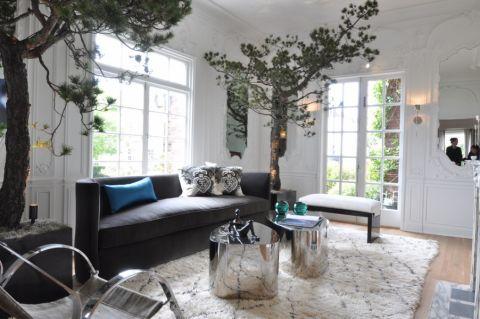 客厅沙发混搭风格装饰效果图